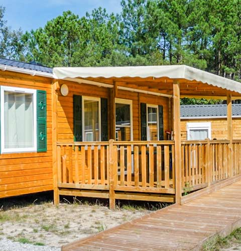 location camping spa les landes