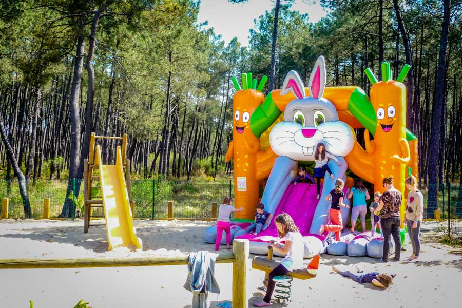 Camping familial Landes