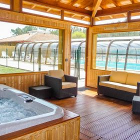 Camping Jacuzzi Landes